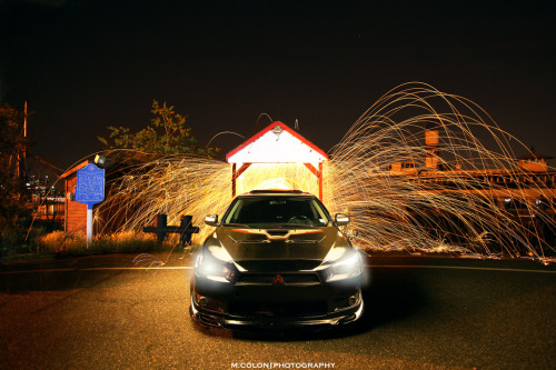 Judgement Day Starring: Mitsubishi Lancer EVO X (by Morice Colon)