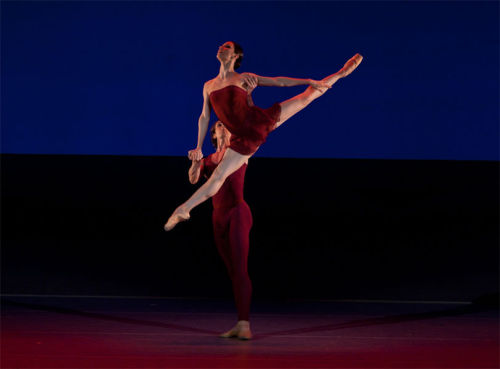 Maria Alexandrova and Semyon Chudin in Dream of Dream. Photo by Elena Fetisova.