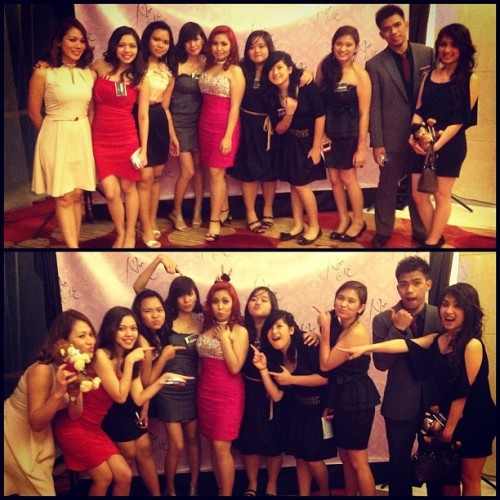 Youth D'Group at Abbey's Debut Celebration… Weee! (Taken with Instagram)