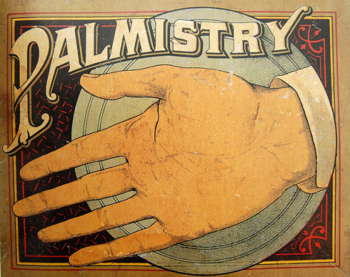 klappersacks: Palm Reading by Crossett Library Bennington College on Flickr
