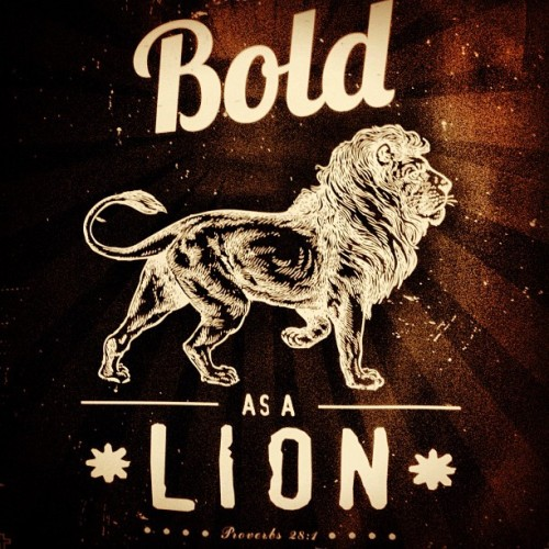 """The wicked flee when no one pursues, but the righteous are bold as a lion"" (Proverbs 28:1, NKJV) As a believer in Jesus Christ, you are called to live a bold, confident and overcoming life. You don't have to live under a burden of fear. You don't have to live with anxiety. Because of Jesus, fear, worry and uncertainty are beneath you. When you rise up in faith knowing that God is with you and for you, all doubt and fear has to leave your life.  Notice that today's scripture says that the righteous are as bold as a lion. Righteousness is God's way of doing things. When you do things His way, when you are submitted to His plan for your life, He promises success. It may not always be the way we had in mind, but ultimately, His plan is to prosper you, not to harm you, to give you a hope and a future!  Today, if you've been feeling anxious or fearful, begin to declare God's truth over your life which will set you free! Declare that you are righteous in Christ Jesus! Declare that you are more than a conqueror! Declare that you are as bold as a lion because He who is in you is greater than he who is in the world!"
