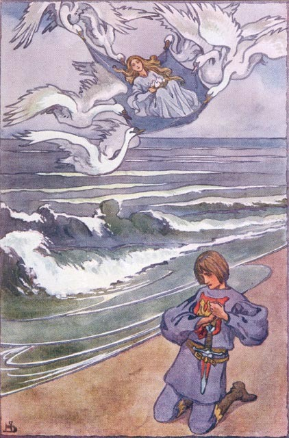 The Return illustrated by Helen Stratton, from The Lily of Life.