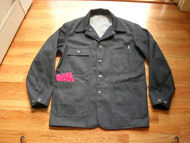 THE SLOWBOAT DEADSTOCK RAILWAY COAT