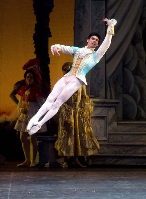 thedailyballet:  Herman Cornejo in The Sleeping Beauty. Photo by Rosalie O'Connor.
