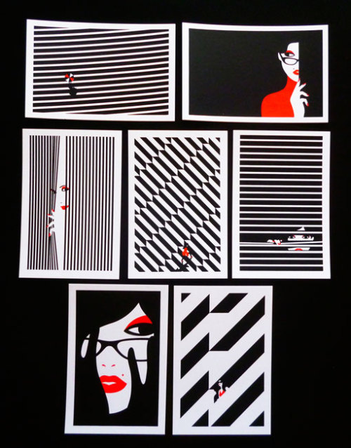 Malika Favre – Hide and Seek Miniprints