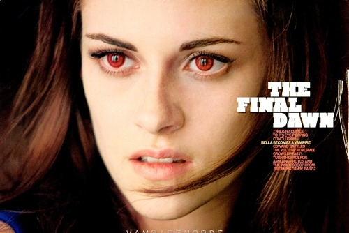 Gli occhi rossi di Kristen Stewart(Bella Swan) in Breaking Dawn Parte 2! (via Breaking Dawn Parte 2: nuove foto dal film con Robert Pattinson & Kristen Stewart! » Sw Tweens)