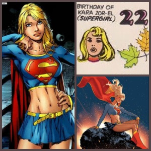 Today in the world of DC Comics: 22nd September - Birthday of Kara Zor-El of Krypton (Supergirl)