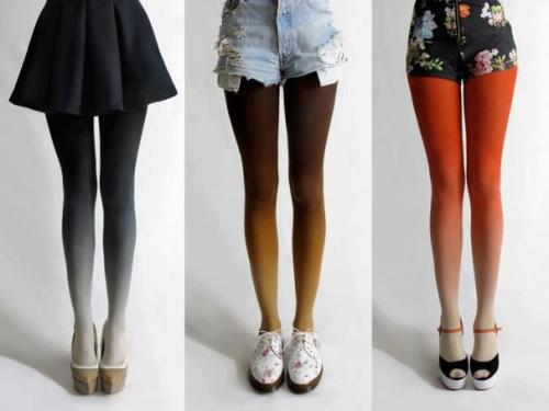 gabbysworld:  Ombre tights ♥