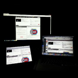 Got the Big Bang Ticketmaster page pulled up on the MacBook, iPad, and the family computer!!! Best to be prepared! (Taken with Instagram)