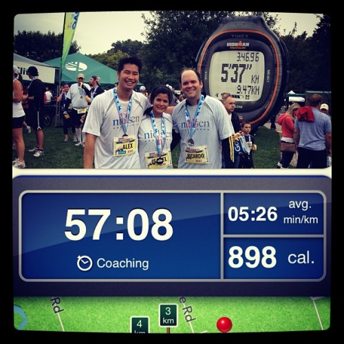 Oasis Zoo Run with Nielsen (Taken with Instagram)