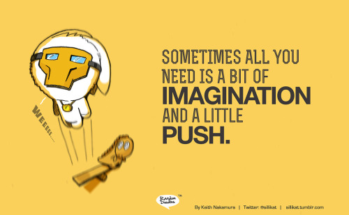 Random Doodle: Imagination and push…