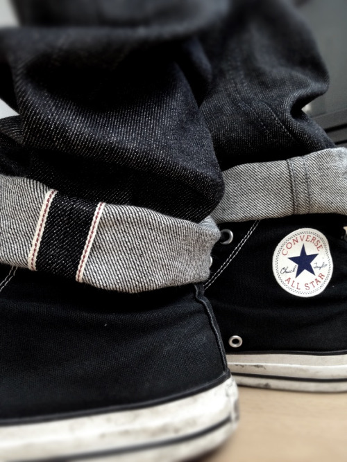 Naked & famous black selvedge.