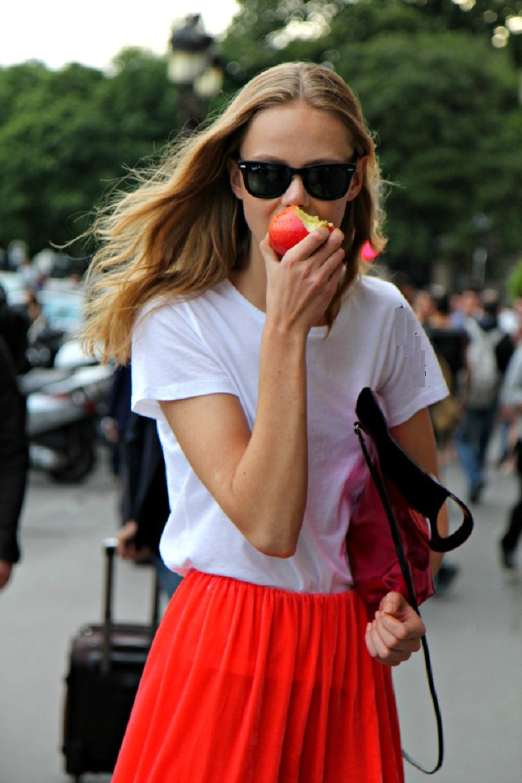 Frida Gustavsson after Gianbattista Valli, Paris, July 2012