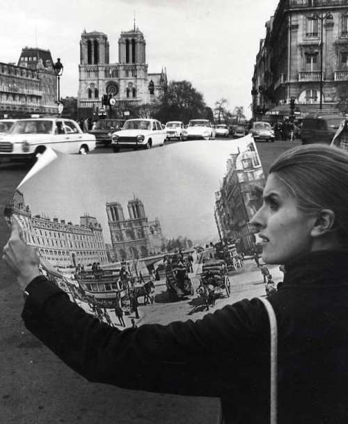 Robert Doisneau Notre Dame, Paris, 1977 Thanks to firsttimeuser