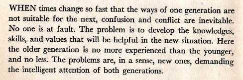 ~ Keeping Up With Teen-Agers, by Evelyn Millis Duvall, 1947
