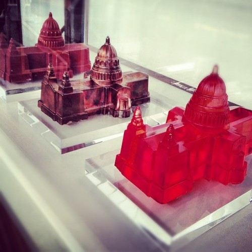 St. Paul's Jelly & Moulds by Bompas & Parr #foodie #design #designjunction #ldf  (Taken with Instagram at The Old Sorting Office)