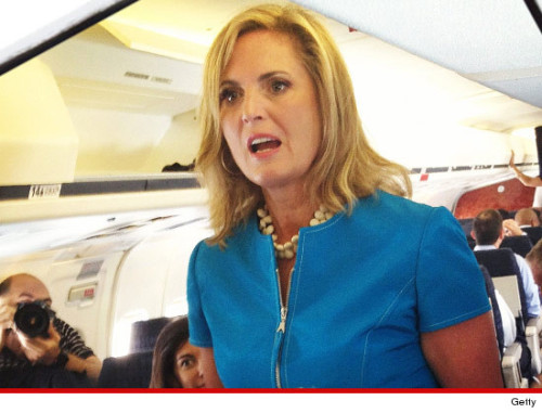 "Ann Romney Cancels Interviews After Stop It Controversy  In Omaha for a closed to the press fundraiser for her husband Friday, Mrs. Romney was supposed to give interviews to several reporters but canceled due to the controversy over her blow up at Republicans on a radio interview, in which she ordered Mitt's Republican critics to ""stop it."""