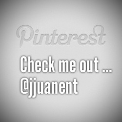 Check me out on #pinterest too
