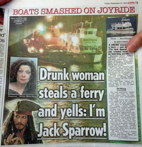 *Captain Jack Sparrow[via]