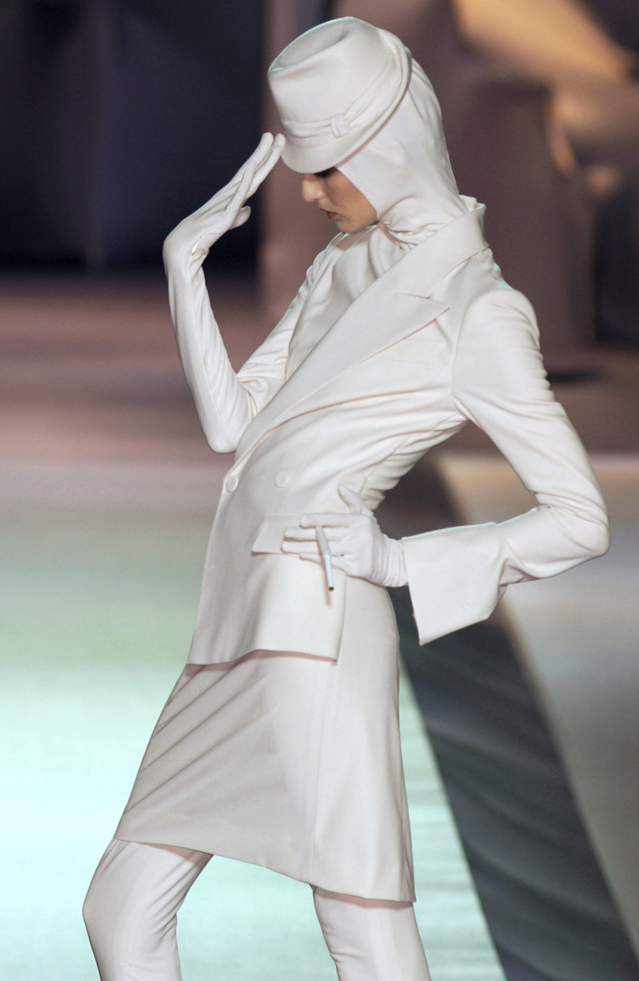 notordinaryfashion:  highqualityfashion:   Jean Paul Gaultier FW HC 03   Love