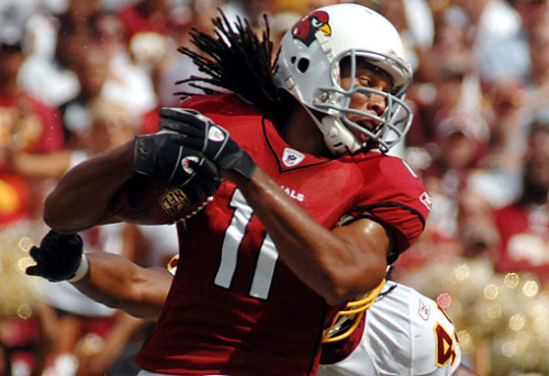 nflnewsandtalk:  Larry Fitzgerald: I Was Almost A Philadelphia Eagle - Arizona Cardinals Pro Bowl wide receiver Larry Fitzgerald told CSNPhilly.com on Friday that the Eagles offered the Cardinals a 1st and 3rd round pick for him back in 2008. The report does not say why the deal never took place. According to the report, Fitzgerald's contract was a huge strain on the team's salary cap. He was due to make over $14 million in 2008, and $17 million the following season. The deal could have drastically changed the 2008 season for both teams, as the Cardinals went on to beat the Eagles in the NFC championship game 32-25. Fitzgerald had 152 yards and 3 touchdowns that night. Both teams are 2-0 and will meet again this Sunday.  Fitz is in Fantasy Football Limbo this year :-(