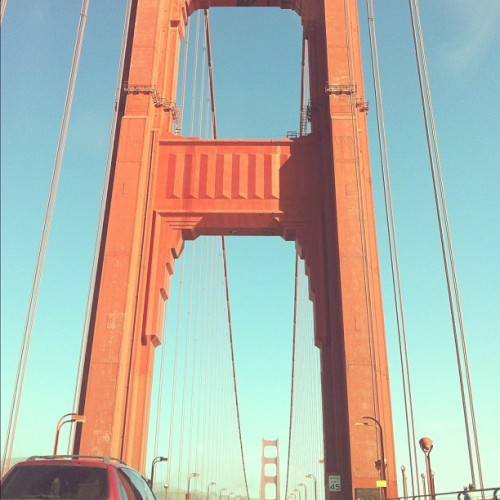 More bridges! #goldengate (Taken with Instagram)