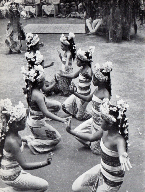 "sombhatt:  Henri Cartier-Bresson : Les danses à Bali, collection ""huit"", Editions Robert Delpire, 1954."
