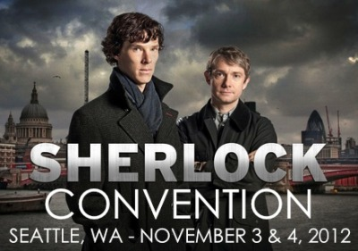 the-mamishka:  Welcome, Sherlockians! The Sherlock Seattle Convention website is now available! http://www.sherlock-seattle.org The Sherlock Seattle Convention is a celebration of all things Sherlock and as such will be featuring many interesting and informative panels, fun and entertaining events, as well as a screening of all three episodes of BBC's Sherlock - Season 2! Check out the website to pre-register for the convention (hint, hint, everyone who wants to come to the convention needs to pre-register - there will be no at-the-door registrations) and discover of what kinds of panels, guests and special events you can expect to find there! We look forward to meeting you in person! Cheers!  Why yes, I'm going to this, with two of my best friends/fandom lunatics. It's going to be FUN. (Even if I'm the StuntWatson to one of them, and the StuntLestrad to the other.)
