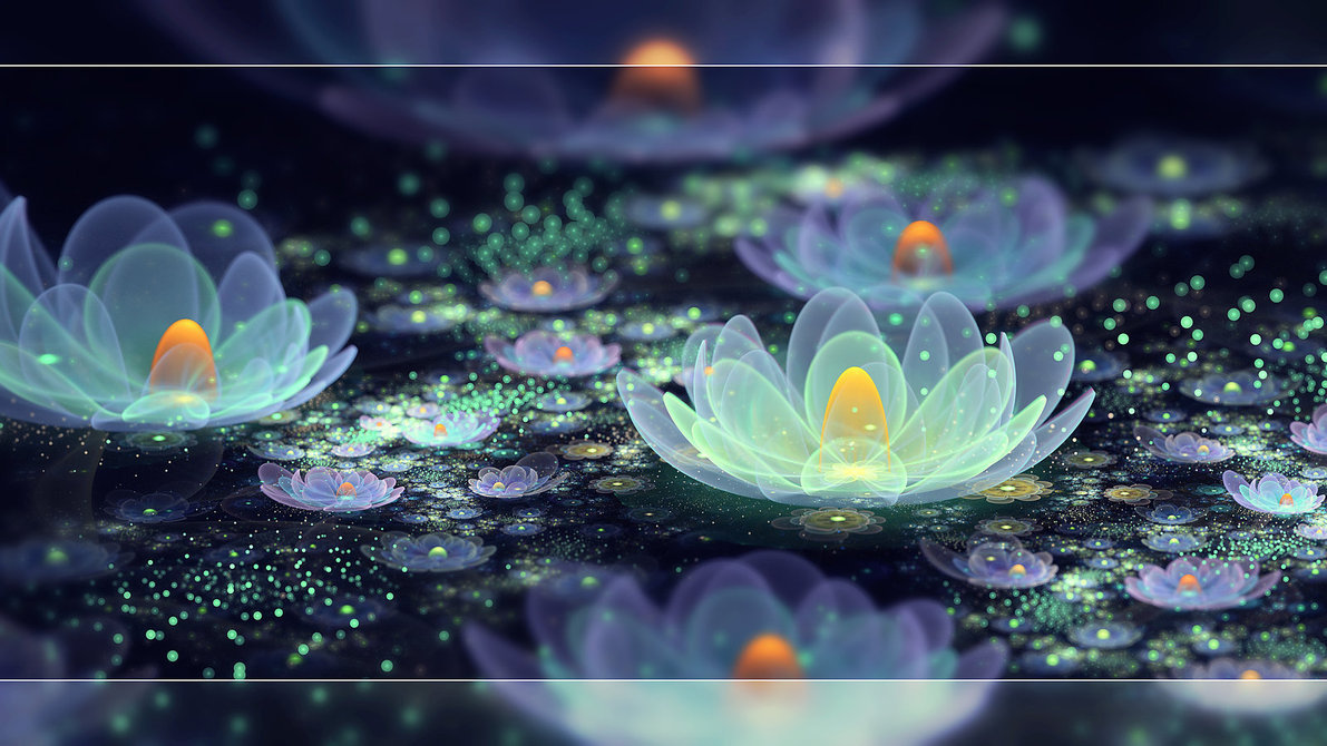 Lotus pond dew by: Fiery-Fire