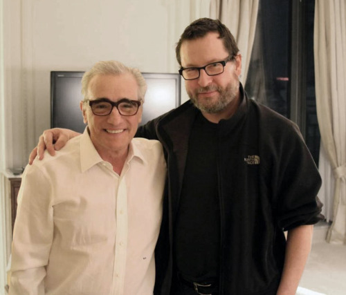 pickledelephant:  Martin Scorsese and Lars von Trier
