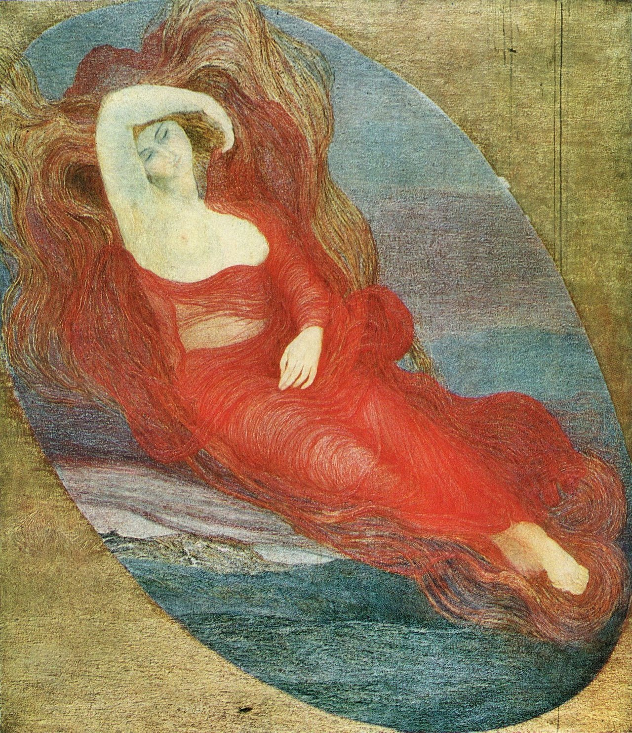 Giovanni Segantini, Goddess of Love