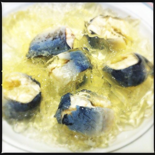 Jellied eel from Southend #London.