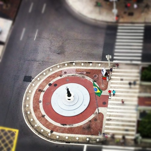Tilt shift #rio (Taken with Instagram)