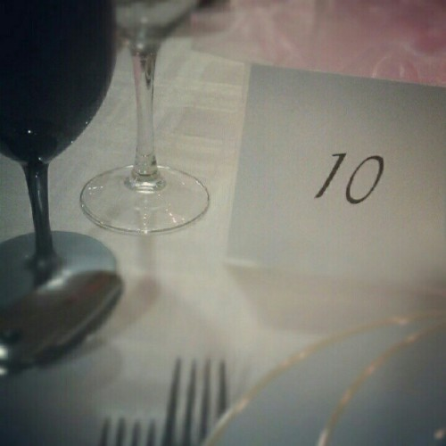 Mesa 10. / Table 10. (Tirada com o Instagram)