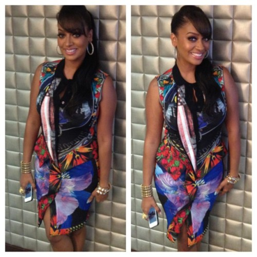 Hot! or Hmm…: LaLa Anthony's Instagram Givenchy Pre-Fall 2012 Dress