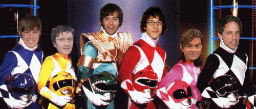 tliandbillsheadspastedontothings:  GO GO POWER RANGERS