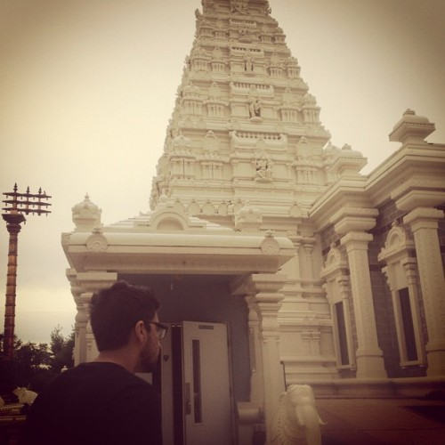 The Hindu Temple of St Louis| Missouri (Taken with Instagram)