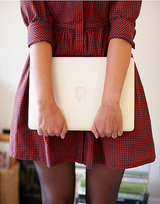 little plaid dress #officestyle