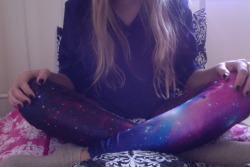 Got my galaxy leggings today. Yay!