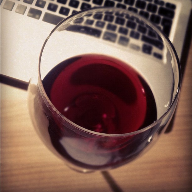 Time for #wine I guess. (Taken with Instagram)