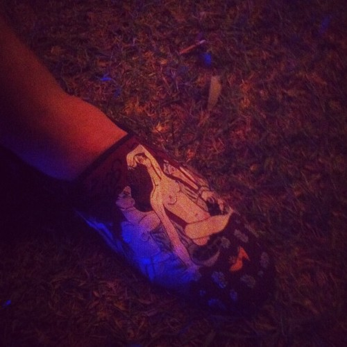 Best shoes of the evening #WPPStream (Taken with Instagram)