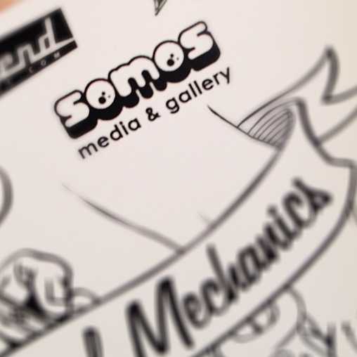 I had a meeting with Somos Media & Gallery and I'll be participating in two upcoming shows and their craft fair.