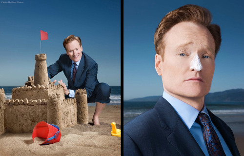 Conan O'Brien Photograph by Matthias Clamer for Parade Magazine