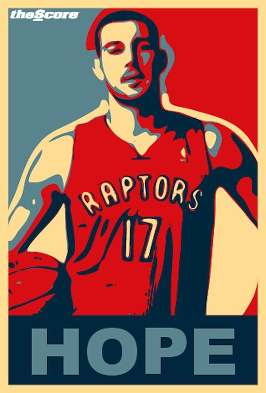 Hope. It's all Raptors fans have left.