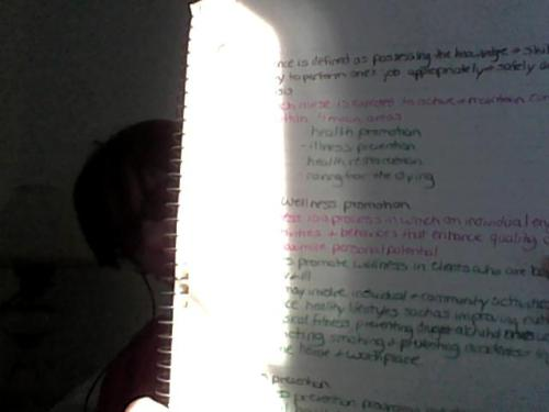 My notes are so colorful.
