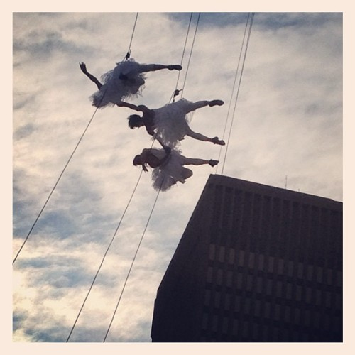 Bandaloop (Taken with Instagram at Rochester Fringe Festival)
