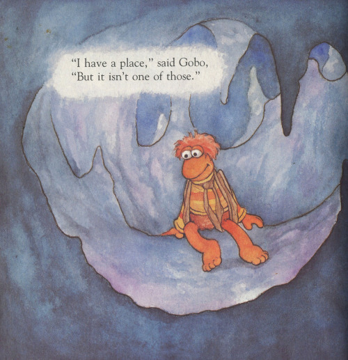 No one knows where Gobo goes when Gobo goes away. I read this book the night before I went on my High Park tromp.I love my thesis research.Just call me Gobo.