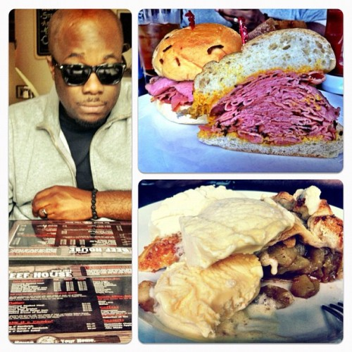 Corn Beef House with @soundwrightpro - #toronto #restaurant #meatlover #meat #photography #foodgasm #instafood #instagram #igers #igdaily #ignation #applepie #allamode #foodporn  (Taken with Instagram)