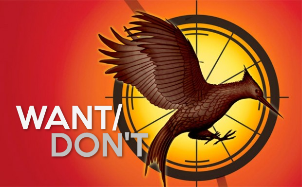 Want/Don't: Catching FireI love 2012's The Hunger Games. Gary Ross was the right guy for the job of director - the level of care he put into it was ridiculous (don't agree? Watch the extra stuff on the Blu-Ray). I am nervous due to the change in directors, but at the same time I am optimistic due to Francis Lawrence's job as director of I Am Legend. Maybe not the best-reviewed movie of all time, but man he got the mood right. Want: Gary Ross-level care. I don't know what people think of him, but I admire him a great deal after having watched HG and its extra material. Not often are directors that into creating a masterpiece when it's not their idea. You actually feel proud of him for being as brazenly into someone else's work to make a movie that worked that well out of a book, which as we all know is not an easy feat. HG is the best book-to-film I can think of. Don't Want: Long flashbacks to first movie, the book is filled with flashbacks and I hope the movies don't echo this. It's not in any way that I do not like the flashbacks in the book. They make sense there, it's a book. That is how a book needs to be. I just worry Francis Lawrence won't echo Ross's handling of the bakery (keep it quick, let us know why its there and STOP). It's not even because I don't have confidence in FL, I actually do. He just isn't Gary Ross. That scares me, because he was crazy deep into it.