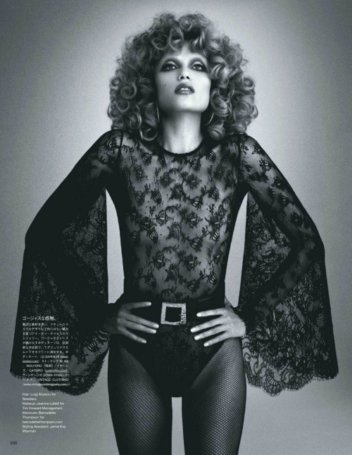 Natasha Poly by Daniele & Iango for Vogue Japan, May 2012